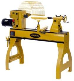 Powermatic wood lathe